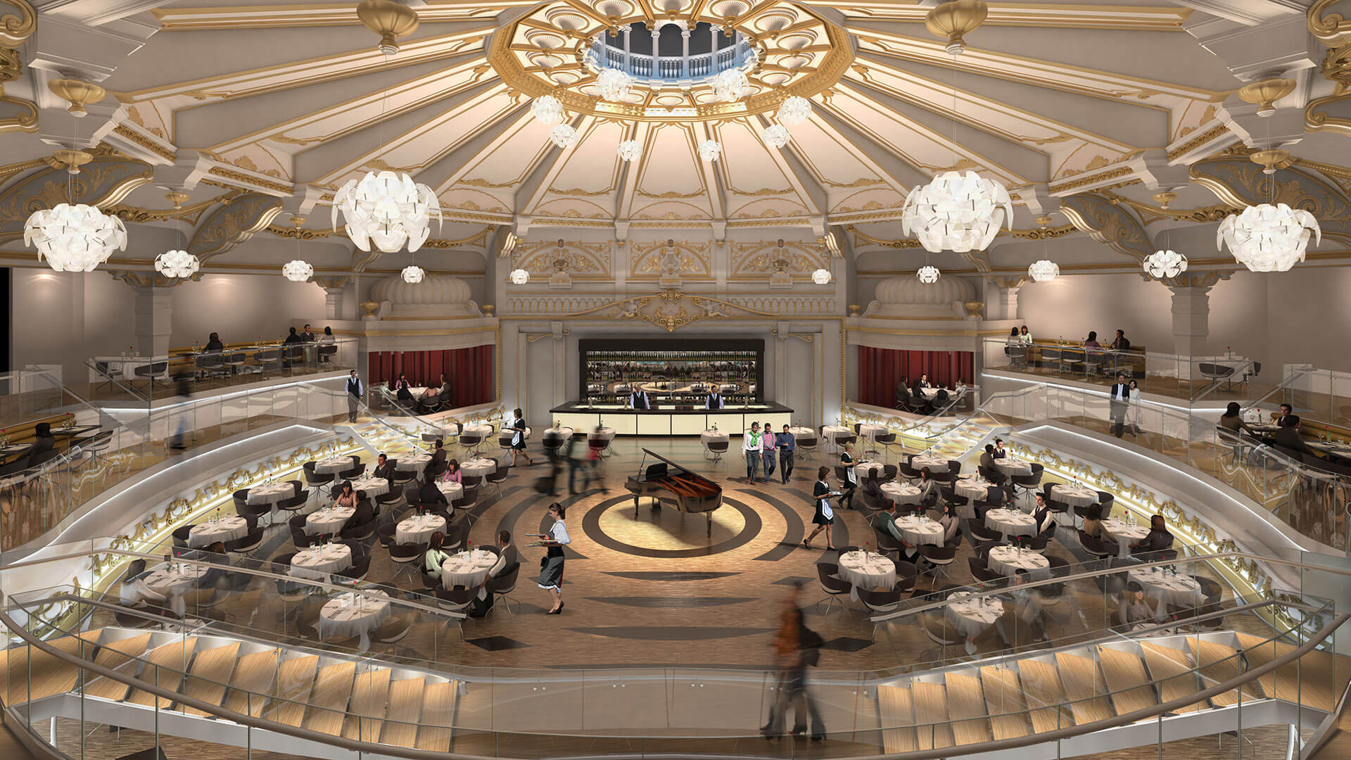 Russ Drage Architects - Hippodrome - Brighton - Commercial Architects