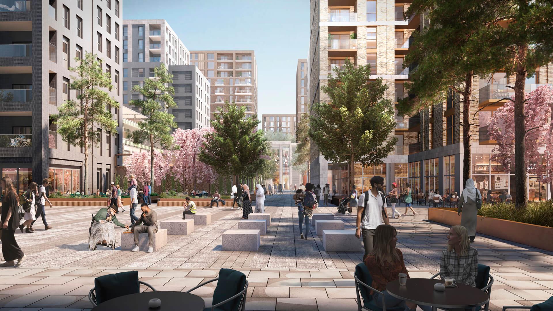 Russ Drage Architects - Goodmayes - Masterplanning & Urban Design Architects