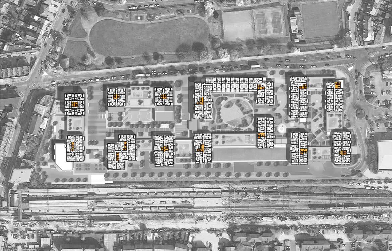 Goodmayes_Nineth Floor Plan_Barley Lane Park_Crossrail_1170 x 750_v7